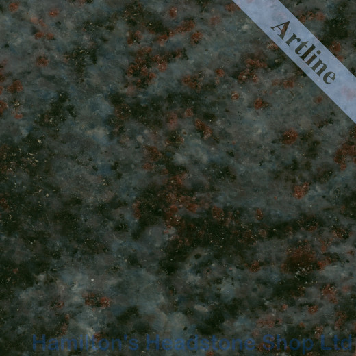 Bahama Blue Granite Colour
