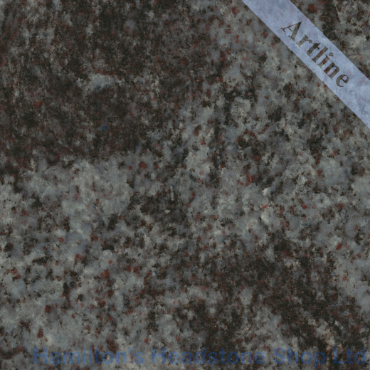 Blue Azur Granite Colour