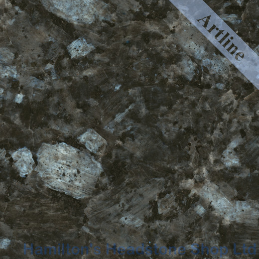 Blue Pearl Granite Colour