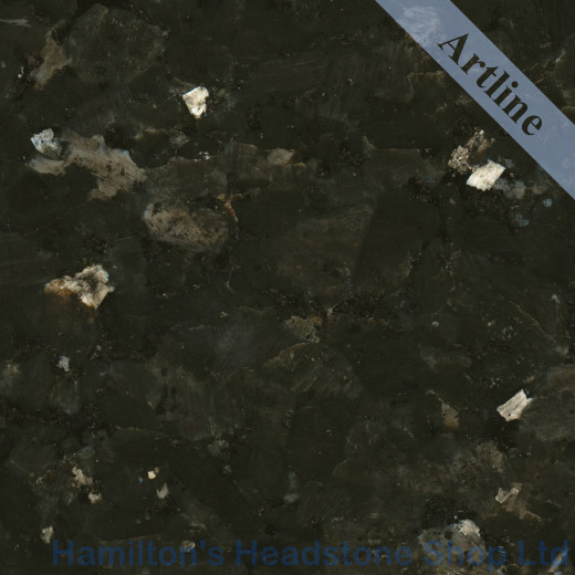 Emerald Pearl Granite Colour