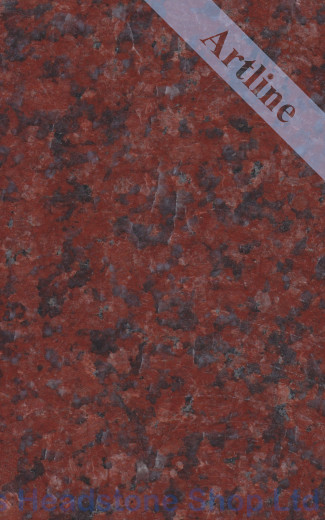 Ruby Red Granite Colour